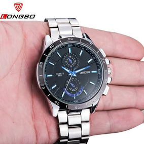 Longbo 8833 Relógio De Quartzo Resistente À Água Luminoso -