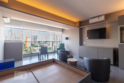 Studio No 9º Andar Mobiliado Com 1 Dormitório E 1 Garagem - Id: 892935565 - 235565