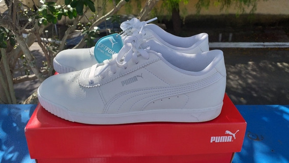 Tênis Puma Branco/white 37 Softfoam Novinho Na Caixa