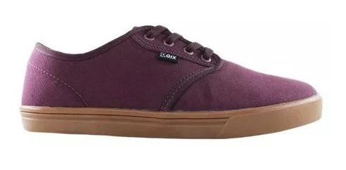 Tênis Qix Nb Bordo/natural 107304 - Nota Fiscal