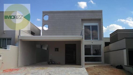 Casa Residencial À Venda, Condomínio Santa Clara, Valinhos. - Ca1794