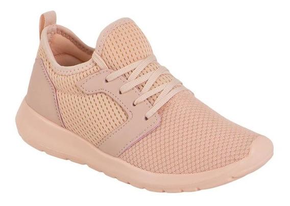 Tenis Dama Running Rosa Pink Sport Comodos Entrena Moda