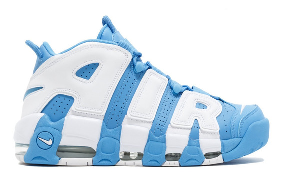 Zapatillas Uptempo ´96 Unc University Blue/white