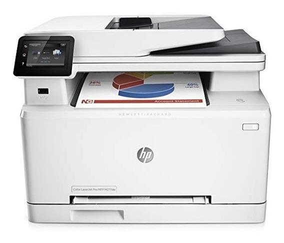 Multifuncional Com Fax Hp Color Laserjet Pro Mfpm277dw Wifi