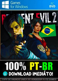Resident Evil 2 Remake - Pc - Completo Envio Na Hora!
