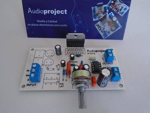 Modulo Amplificador Subwoofer 38 W C/ Fuente Trafo Disipador