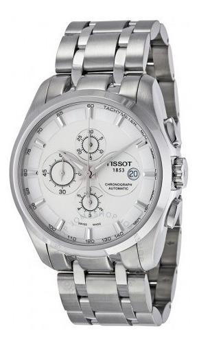 Relógio Tissot Couturier Prata/aço Automático Cronógrafo