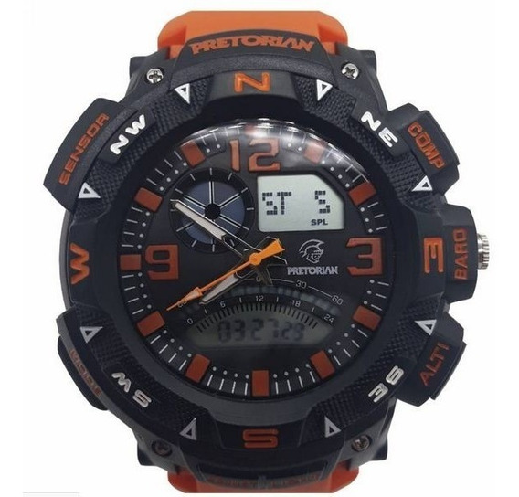 Relógio Pretorian Force Orange/black ( Wprt-06-3)