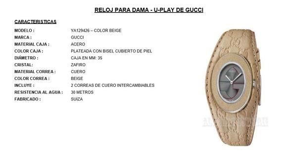 Reloj Marca Gucci Nuevo