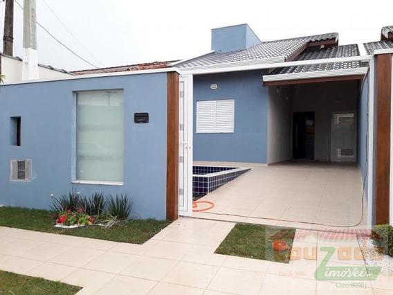 Casa Para Venda Em Peruíbe, Jardim Peruibe, 2 Dormitórios, 1 Suíte, 1 Banheiro, 2 Vagas - 2587