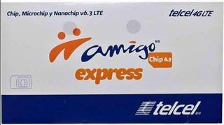 Chip Telcel Lada Tampico 833