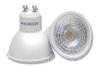 Dicroica Led 7w Gu10 Luz Cálida Macroled Pack X 25 Unidades