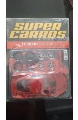 Ferrari 458 Italia Kit Para Montar 1/24 Raro Lacrada