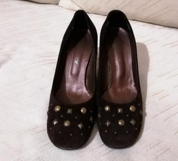 Zapatos Mujer Altos N39 Y Botas Cortas N°39 Pack