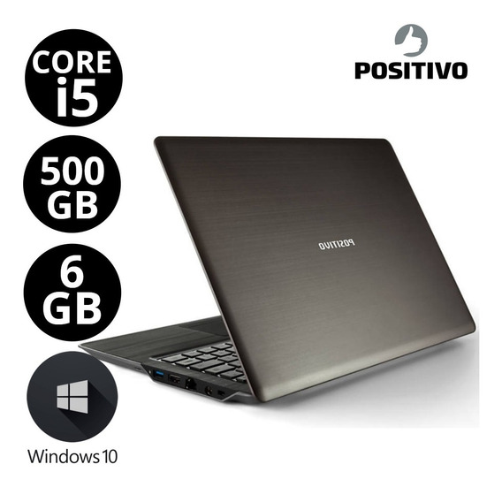 Notebook Barato Positivo Core I5 Hd 500gb Ram 6gb