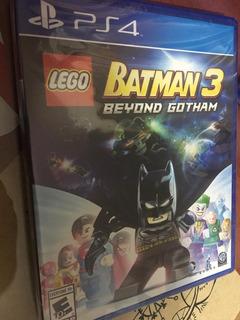 Lego Batman 3 Ps4 Nuevo Sellado