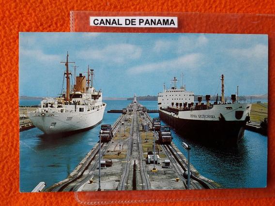 Postal Del Canal De Panama