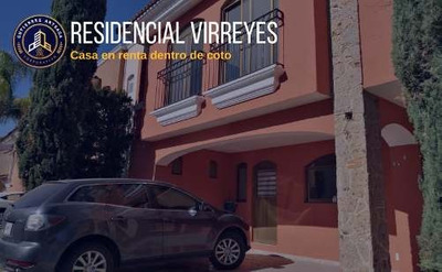 Bonita Casa En Residencial Virreyes