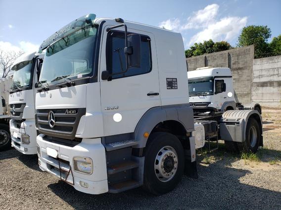 Mb 1933 Axor 4x2 Ano 2011/2012 Apenas 73 Mil Km = Scania 340
