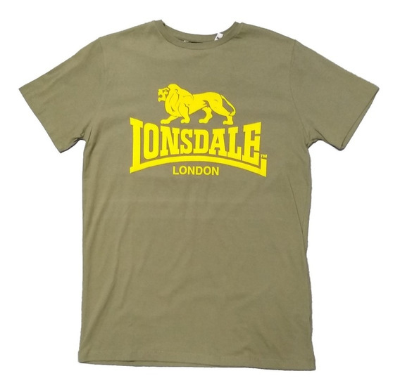 Remera Lonsdale Logo Hombre Algodon - Local Olivos