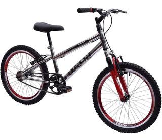 Bicicleta Ultra Cross Bmx Aro20 Suspensão V-break Crom Garra