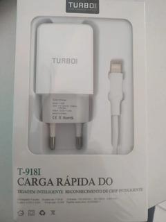 Carregador Turbo 5v 2.6a Reconhecimento De Chip Inteligente