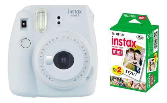 Câmera Instantânea Fujifilm Instax Mini 9 + Filme 20
