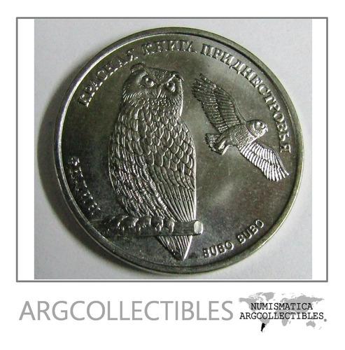 Transnistria Moneda Aguila Y Buho 1 Rublo 2018 Sin Circular
