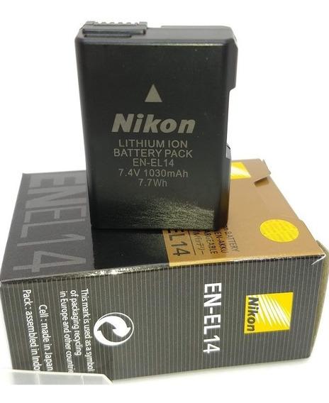 Bateria Nikon En-el14 D3300 D5200 D5100 P7000 D3100 D3200