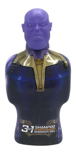 Imagen 1 de 1 de Gelatti - Shampoo 3en1 Avengers Thanos