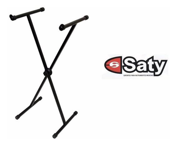 Estante Suporte Para Teclado Em X Saty Modelo 2020 Reforçada