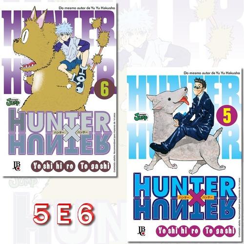 Hunter X Hunter 5 E 6 Relançamento! Mangá Jbc! Novo Lacrado