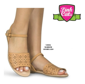 Sandália Feminina Pink Cats - 28 A 33 - Promoção