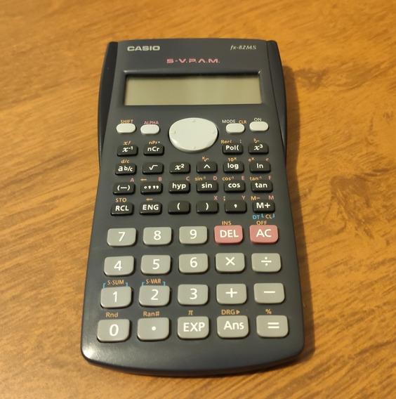Calculadora Científica Casio, 240 Funções Fx-82ms.