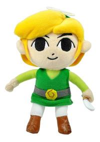 Pelúcia Link The Legend Of Zelda 18 Cm