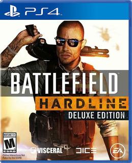 Battlefield Hardline Deluxe Edition Ps4, Físico, Nuevo
