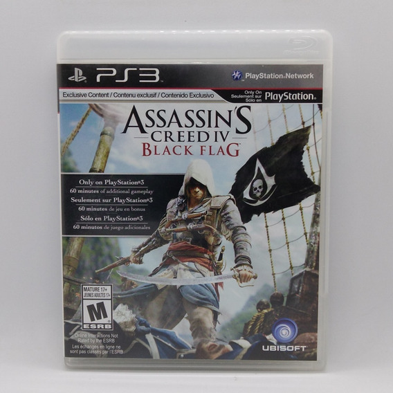 Assassins Creed Iv Black Flag Ps3 Midia Fisica Play 3 Game