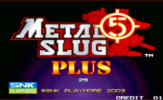 Cartuchos Neón-geo Metal Slug 5 Plus Arcade ( Jamma )