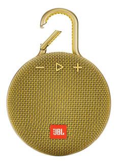 Bocina JBL Clip 3 portátil inalámbrico Mustard yellow