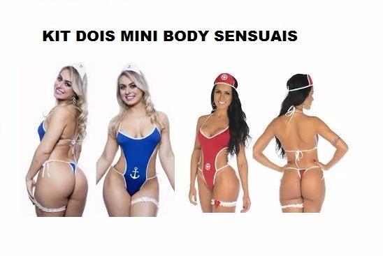 Kit Sensual Mini Body Sexy Salva-vidas + Marinheira