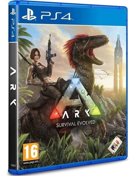 Jogo Ark Survival Evolved Ps4 Disco Físico Novo Português Br