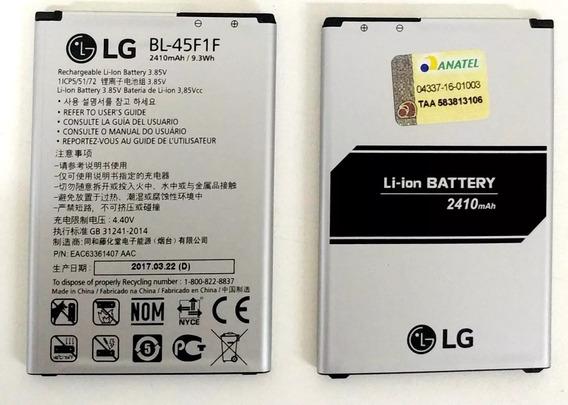 Bateria Bl45f1f Bl-45f1f Lg X230/x240 Original 2410mah Nova