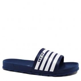Chinelo Masculino West Coast Slide Zuma Azul 185603w