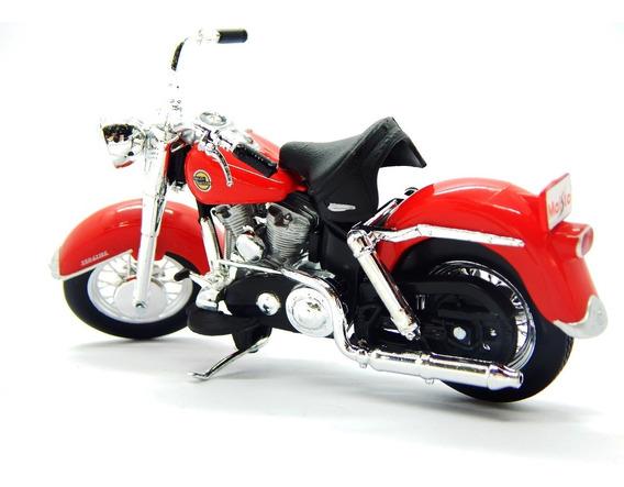 Miniatura Moto Harley Davidson - Série 33 - 1:18 - 58 Flh Du