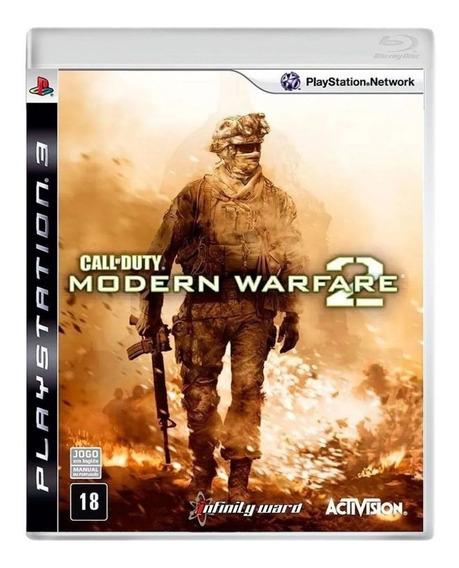Jogo Call Of Duty Modern Warfare 2 Ps3 Usado