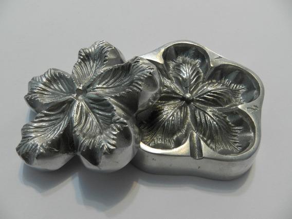 Frisador Rosa Mirim De 5 Pétalas Em Alumínio