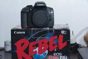Canon T6i (corpo) - Zerada