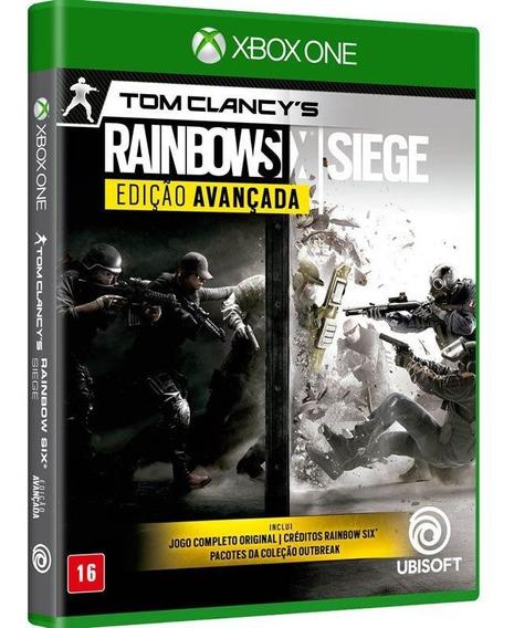 Jogo Rainbow Six Siege Xbox One Midia Fisica Novo Português