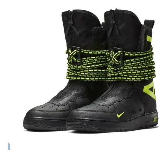 Nike Sf Af 1 Special Air Force One Volt Botas Botines 7 27