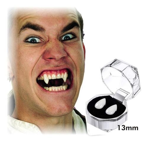 ¡ Colmillos Vampiro Halloween Disfraces Lobo Drácula Fx !!